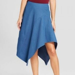 Mossimo asymmetrical skirt
